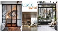 Coup de coeur C.M.C HABITAT : Les portes vitrées dans nos intérieurs pour laisser circuler la lumière et agrandir l'espace