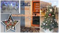 C.M.C HABITAT votre bureau d'études architecturales à Cagnes sur Mer vous souhaite de merveilleuses fêtes de fin d'année bien au chaud