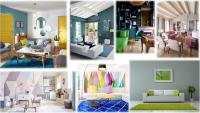 Conseils et Infos C.M.C HABITAT : Les combinaisons de couleurs qui marchent à tous les coups pour le salon