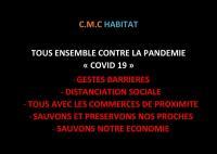 C.M.C HABITAT reste connecté et opérationnel pendant le re-reconfinement !