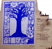 C.M.C HABITAT votre cabinet de conseils en décoration d'intérieur : La peinture et la poésie s'invitent côte à côte rue Mouffetard à Paris