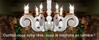 C.M.C HABITAT vous présente Hugues Rambert - Créateur d'abats-jours et de luminaires