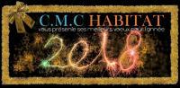 La société C.M.C HABITAT vous adresse ses meilleurs vœux pour la nouvelle année 2018 !